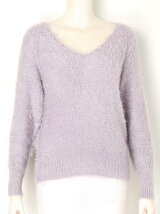 SUGARY v neck knit