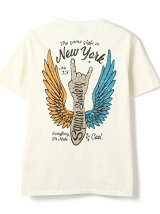 WING HAND HENLEY NECK T-SHIRT/ヘンリーネック Tシャツ