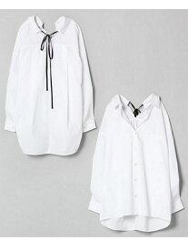 【SALE/22%OFF】JEANASiS バックリボンレギュラーシャツ ジーナシス シャツ/ブラウス【RBA_S】【RBA_E】【送料無料】