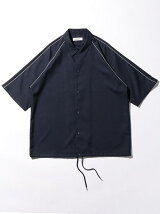 <monkey time>  DRY/CHAMB PPNG SHIRT/シャツ