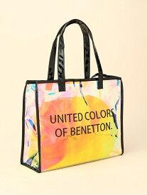【SALE/72%OFF】BENETTON (UNITED COLORS OF BENETTON) BENETTON/(W)レディス バッグ ニッキー バッグ トートバッグ ブラック ホワイト