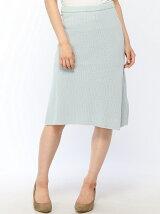 綿麻片畦スカート