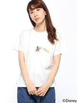 CUBE SUGAR/(W)CS MICKEY P CREW TEE