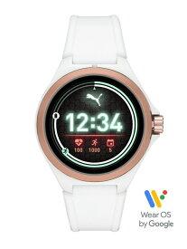 【SALE/40%OFF】PUMA PUMA SMARTWATCH/(U)PUMA SMARTWATCH_PT9102 ウォッチステーションインターナショナル ファッショングッズ 腕時計 ホワイト【送料無料】