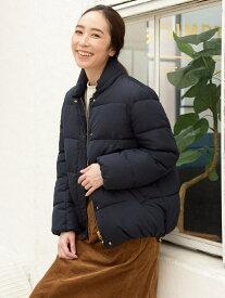【SALE/70%OFF】studio CLIP AIRCONファー中綿ショートコート スタディオクリップ コート/ジャケット ショートコート ネイビー ブラウン ベージュ