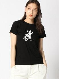 agnes b. FEMME FEMME/(W)SF64 Tシャツカットソー アニエスベー カットソー Tシャツ ブラック ホワイト【送料無料】