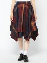 【Rydia】レイヤードイレヘムスカート