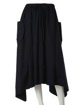 《INED》アシンメトリーヘムラインカーゴスカート