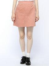 【mystic】太コーデュロイ台形スカート