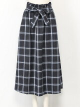 PLAID CHECK LONG SK