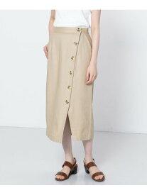 【SALE/60%OFF】ボタンディテールタイトスカート センス オブ プレイス スカート【RBA_S】【RBA_E】