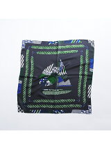 【manipuri】 patchwork yachtスカーフ