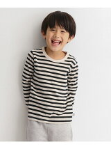 オーガニックボーダーTシャツ(KIDS)