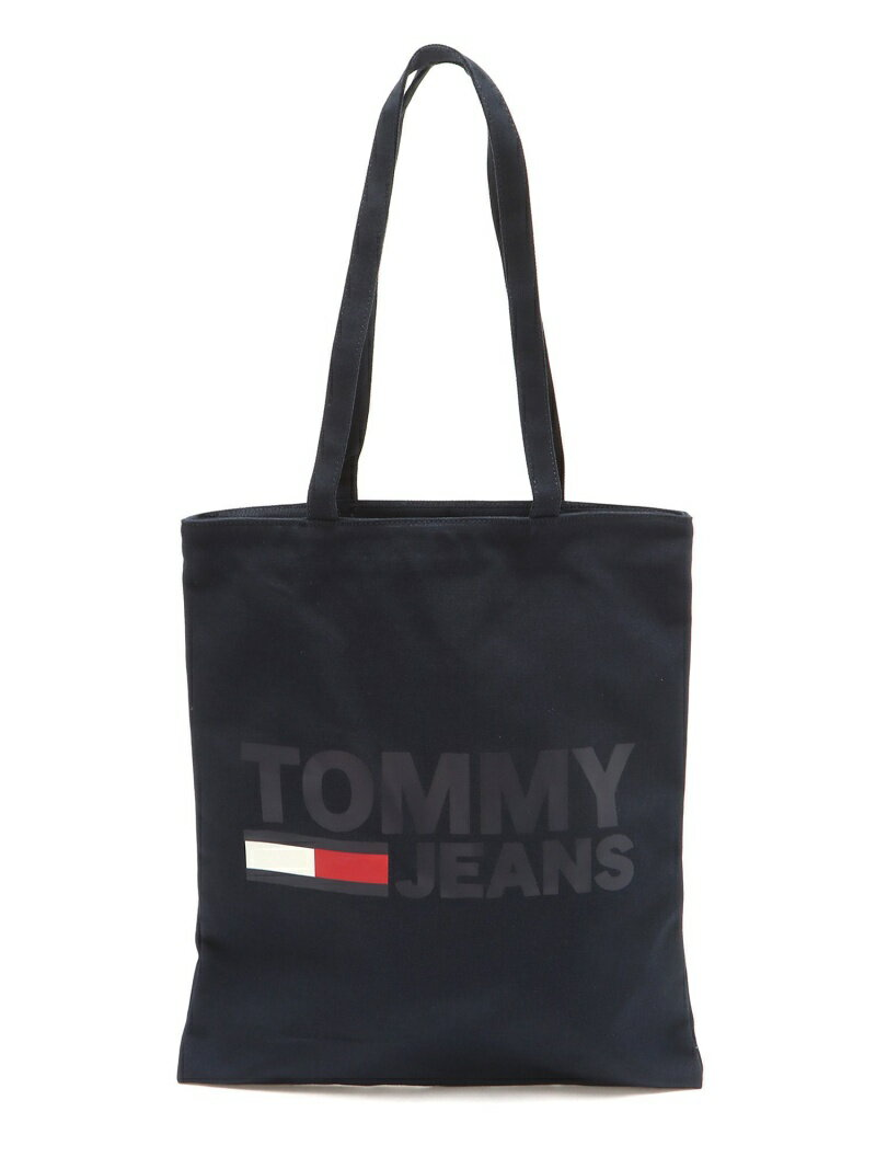 TOMMY HILFIGER (W)ロゴキャンバストート トミーヒルフィガー バッグ【送料無料】