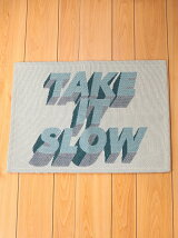 BRID/TAKE IT SLOW RUG 50×70 IV/ベージュ