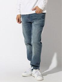Calvin Klein Jeans (M)CALVIN KLEIN 【カルバン クライン ジーンズ】 メンズ ロゴ パンツ ジーンズ デニム インディゴ スキニー テーパード 059 BODY TPR J313817 カルバン・クライン パンツ/ジーンズ フルレングス ブルー【送料無料】