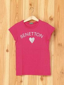 【SALE/30%OFF】BENETTON (UNITED COLORS OF BENETTON) (K)ベーシックロゴ半袖Tシャツ・カットソー ベネトン(ユナイテッド カラーズ オブ ベネトン) カットソー【RBA_S】【RBA_E】
