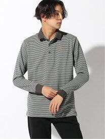 Munsingwear (M)ナガソデ ポロシャツ マンシングウェア カットソー ポロシャツ グレー ネイビー ブラック ブラウン【送料無料】