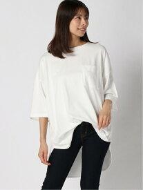 【SALE/50%OFF】studio CLIP ポケツキワイドTEE スタディオクリップ カットソー Tシャツ ホワイト カーキ レッド