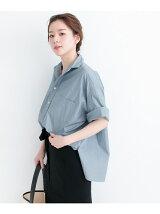 TICCA×UR 別注半袖スクエアビッグシャツプルオーバー