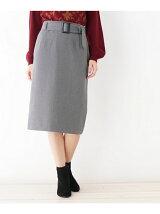 ベルテッドタイトスカート
