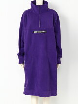 FLEECE HALFZIP DRESS