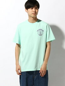 【SALE/30%OFF】nudie jeans FRANKLIN&MARSHALL/(M)プリントTシャツ ヌーディージーンズ / フランクリンアンドマーシャル カットソー Tシャツ グリーン ホワイト【送料無料】