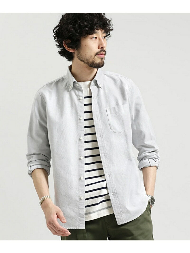 【SALE/60%OFF】nano・universe スーピマオックスB.Dシャツ L/S ナノユニバース シャツ/ブラウス【RBA_S】【RBA_E】
