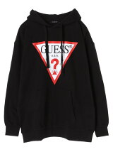 GUESS Triangle Logo Hoody