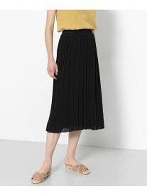 【SALE/61%OFF】ニットプリーツスカート センス オブ プレイス スカート【RBA_S】【RBA_E】