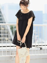 LACE COMBIワンピース