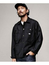 Lee 別注カバーオール ナノユニバース コート/ジャケット ブルゾン ブラック ベージュ ブルー【送料無料】