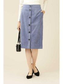 【SALE/45%OFF】NATURAL BEAUTY BASIC [洗える]フェイクスエードフロントボタンタイトスカート ナチュラルビューティベーシック スカート スカートその他 ブルー ベージュ【送料無料】
