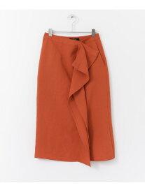 【SALE/50%OFF】ROSSO 2WAYスリットタイトスカート アーバンリサーチロッソ スカート スカートその他 オレンジ ホワイト【送料無料】
