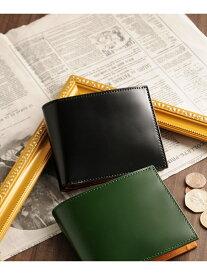 PRAIRIE [PRAIRIE]日本製二つ折り財布コードバンレザーコインケースタイプ ミアボルサ 財布/小物 財布 ブラック ブラウン グリーン ネイビー【送料無料】