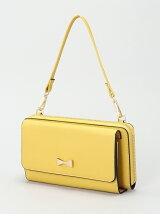 (L)カシュカシュ/リボンポイントお財布ショルダーバッグ