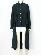 BACK LONG DRAPE SHIRT