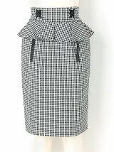 ペプラムコルセットスカート