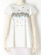花だんフレアTシャツ