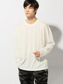 【SALE/20%OFF】SPENDY'S Store ビッグシルエットロングTシャツ スペンディーズストア カットソー Tシャツ ホワイト カーキ ブラック ブラウン ベージュ