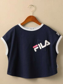【SALE/40%OFF】〔WEB限定〕FILA(フィラ)リンガーTシャツ ユナイテッドアローズ グリーンレーベルリラクシング カットソー【RBA_S】【RBA_E】