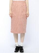 【mystic】コーデュロイタイトスカート