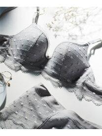 【SALE/10%OFF】une nana cool ポルカドットモールド 3/4カップブラジャー ウンナナクール インナー/ナイトウェア ブラジャー グレー カーキ ピンク ブラック ベージュ