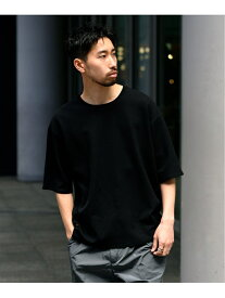 【SALE/30%OFF】DESCENTE PAUSE DESCENTE PAUSE EX THERMAL H/S T-SHIRT エディフィス カットソー Tシャツ ブラック ネイビー ホワイト【送料無料】
