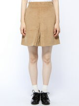 【mystic】シャギータックスカート