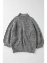 FLUFFY VOLUME KNIT チュニック