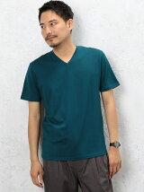 CM ◎GIZA Vネック S/S Tシャツ