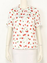 ACID CHERRY puff blouse