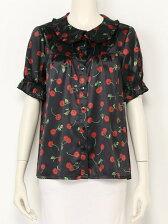 ACID CHERRY puff blouse
