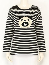 franche lippee L-size/パンダクマボーダー変形P/O